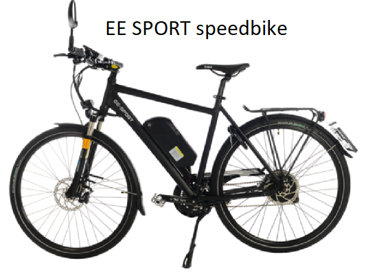 EE Sport  speed bike  40km / uur met kenteken 1500Wh accu