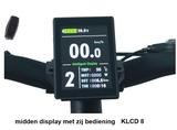 LCD8 display voor elektrische race fietse
