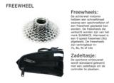 Freewheel mountainbike ombouwset