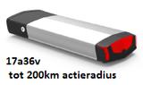 Gold accu 17a36v