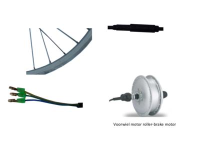 8FUN roller-brake motor