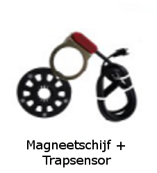 Trapsenor + magneetschijf