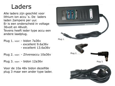 acco lader fiets 36v ebike-efos.nl