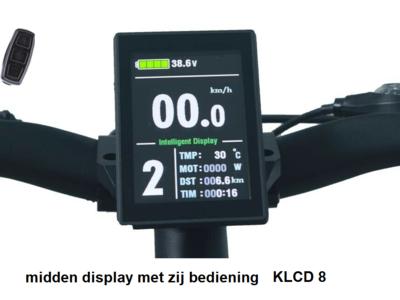 KLCD 8 kleuren scherm