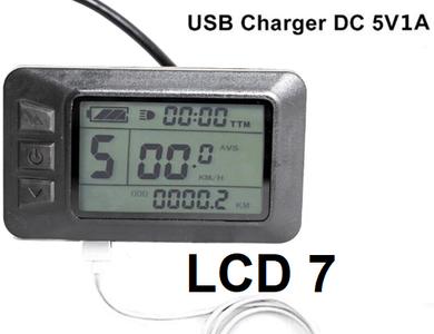 K-LCD 7 display