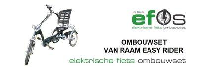 Ombouwset Easy Rider van Raam elektrisch maken met elektrische fiets ombouwset