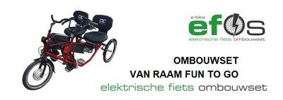 Ombouwset Duo fiets, van Raam Fun to Go of PF stabag
