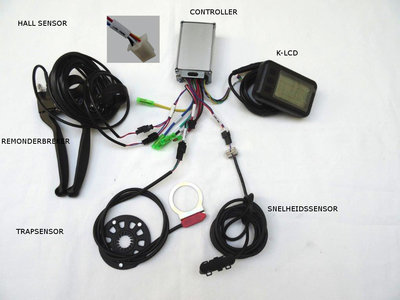 controller set k-lcd