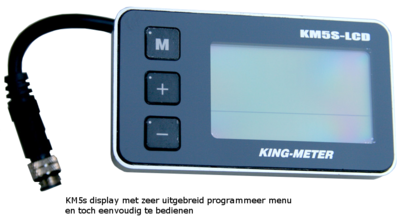 KM5s display  programmeerbaar