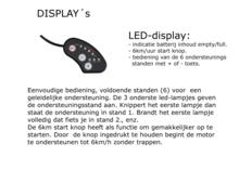 6 standen led-display