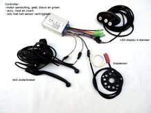 controller set fiets LED-display