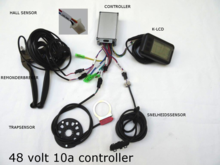 controller set 48v k lcd
