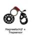 Trapsensor + magneetschijf